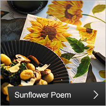 Duni Sunflower Poem