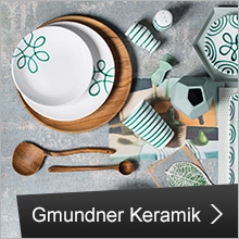 Gmundner Keramik: PREMIUM-Porzellan
