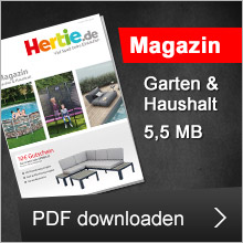 Hertie Magazin 2020 - die beste Gartenmöbel - Luxusgartenmöbel