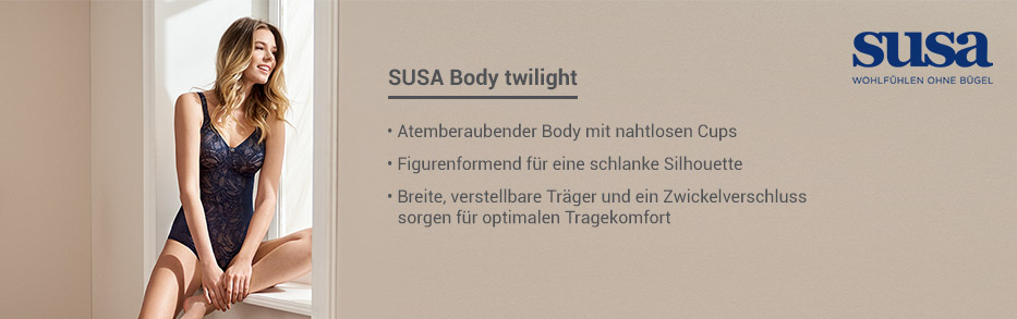SUSA Body ohne Bügel gemoldet 6580 twilight